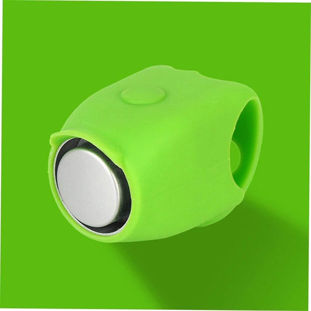 Alarma electr/ónica para Manillar de Bicicleta de monta/ña Color Verde Kitechildhood