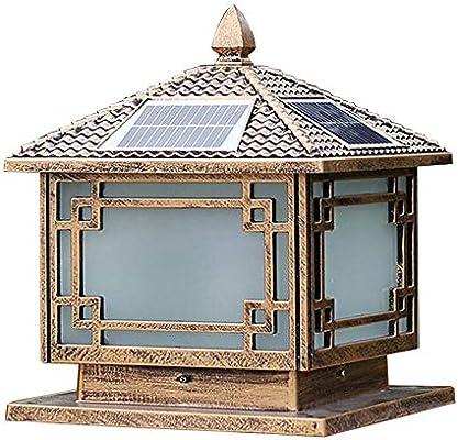 Lámpara de pared exterior decoración del jardín de la lámpara L de ...