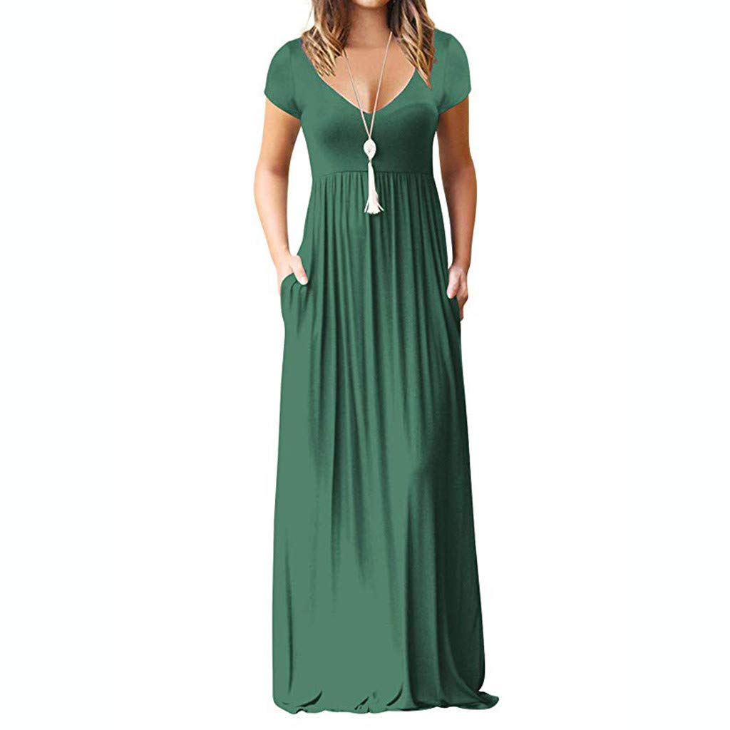 87510c27da468 MEEYA Long Dress 2018 New Women's Casual Sleeveless Print Striped Maxi Tank  Dresses