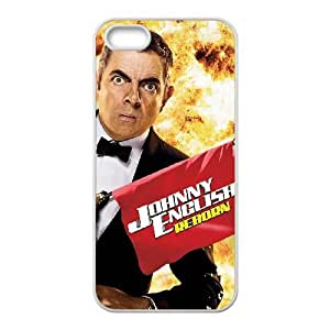 Johnny English Reborn High Resolution Poster iPhone 5 5S Cell Phone Case White Cell Phone Case Cover EEECBCAAK71914