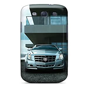 Bumper Hard Cell-phone Case For Samsung Galaxy S3 With Unique Design Realistic Cadillac Cts Coupe Skin Marycase88