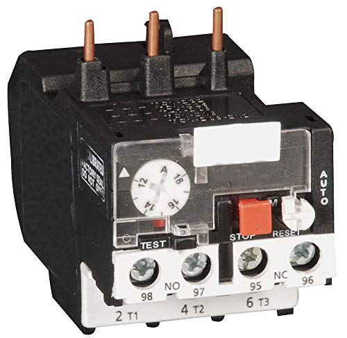 Dayton Overload Relay, Trip Class: 10, Current Range: 1.00 to 1.60A, Number of Poles: 3 - 6ECA8 by Dayton