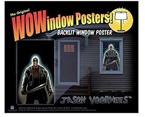 WOWindow Posters Jason Voorhees Friday the 13th