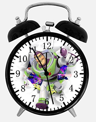 Twin Bell Toy Story Buzz Alarm Desk Clock 4