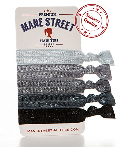 mane-street-hair-ties-grey-made-from-the-best-fold-over-elastic-material-on-the-market-no-tug-durabl