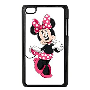 iPod Touch 4 Case Black Disney Mickey Mouse Minnie Mouse Gdur