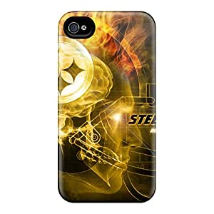 Protective Hard Phone Cover For Iphone 6plus (kqv11777DerZ) Allow Personal Design Stylish Pittsburgh Steelers Image