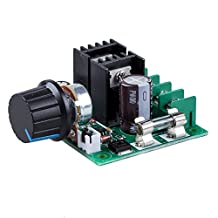 Motor Speed Controller - SODIAL(R) 12V-40V 10A PWM DC Motor Speed Controller with Knob