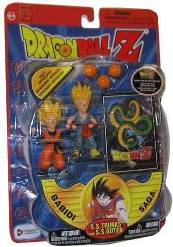 Dragonball Z Series 8 Babidi Saga Action Figure SS Trunks SS Goten (Ss Trunks)