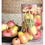 Artificial Apple & Pear In Box
