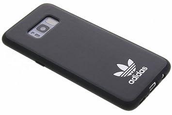 adidas Originals Moulded Case Handyhülle für Samsung Galaxy S8 SchwarzWeiß BlackWhite