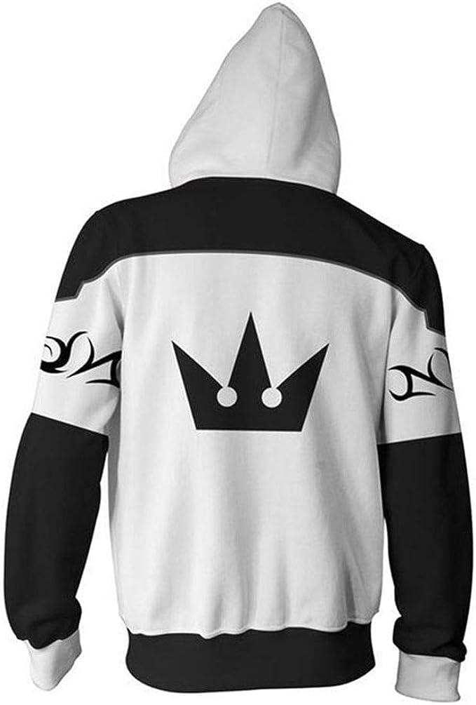 Kingdom Hearts Kairi Thick Sweater Anime Pullover Hoodie Sweatshirt Jacket Coat