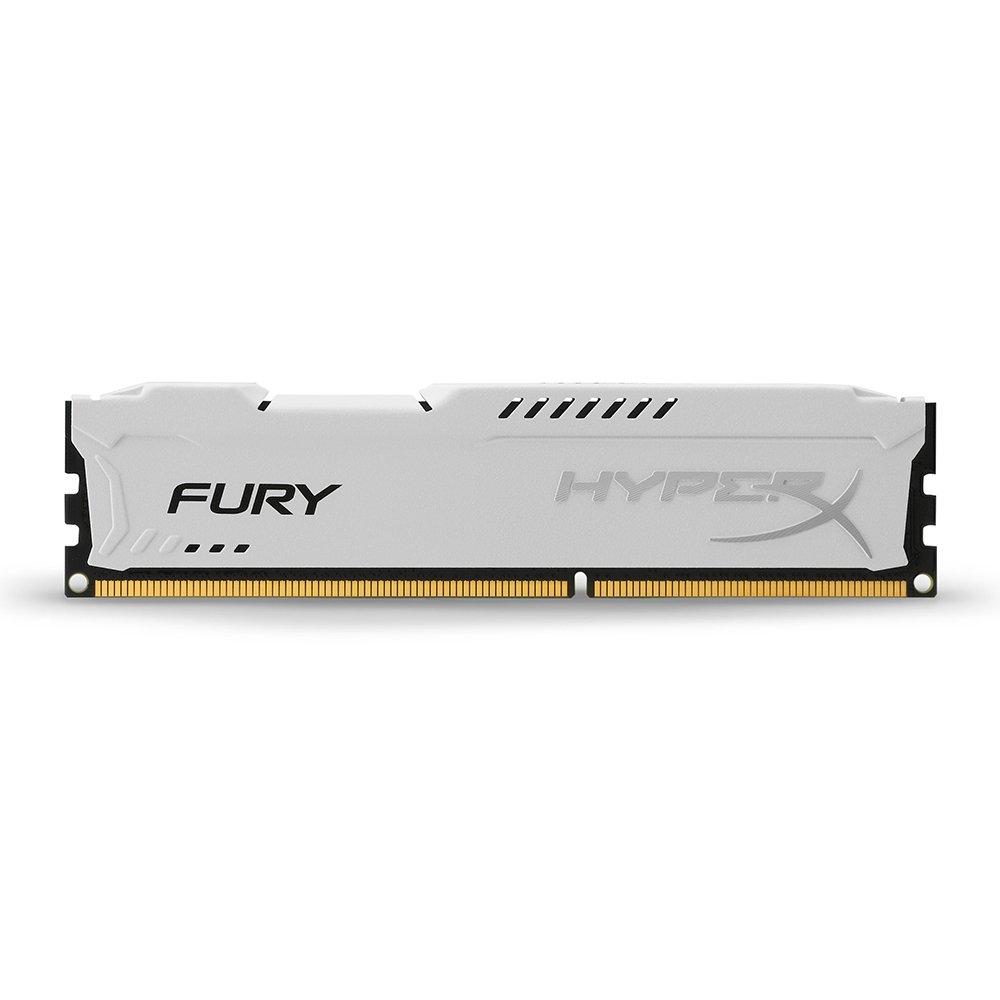Memoria RAM 4GB Kingston HyperX FURY 1600MHz DDR3 CL10 DIMM - White (HX316C10FW/4)