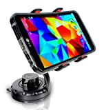 Universal Smartphone / Cell Phone Car Mount for Dashboard or Windshield v2.0 with Advanced Gel Suction by ISOSGear