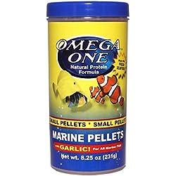 Omega One Garlic Marine Pellets - Small Sinking 8.25oz.
