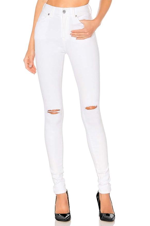 Amazon.com: H HIAMIGOS pantalones vaqueros ajustados para ...