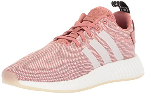 adidas Originals Women's NMD_R2 Running Shoe, ash Pink White, 8 M US