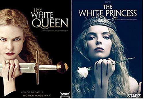 The White Princess & The White Queen: Season 1 - Double Feature DVD Pack -