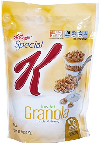 Low Fat Granola - Kellogg's Special K Special K Cereal - Low Fat Granola - 11.3 oz