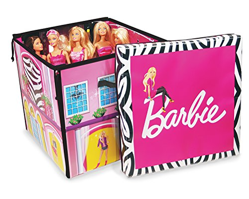Neat-Oh! Barbie ZipBin 40 Doll Dream House Toy Box & Playmat image