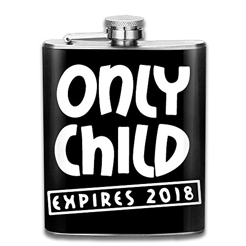 Only Child Expiring 2018 7 Oz Hip Flask Stainless Steel Wine Pot - Leak Proof - Men Women - Mall Hip Chicago The