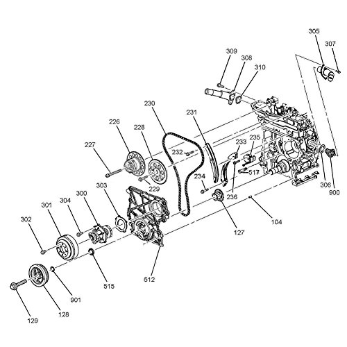 Amazon Com Moca Engine Timing Chain Set For 07 11 Chevrolet