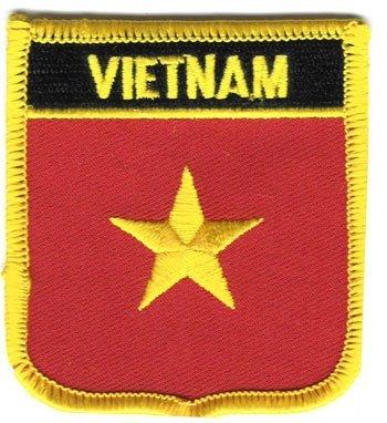 Vietnam Travel Patch/International Iron On Badge by