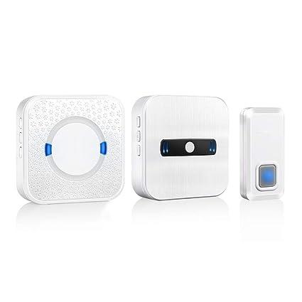 Wireless Plug-In El Timbre De La Puerta De Ultra Larga Distancia Antiguo Pager 55