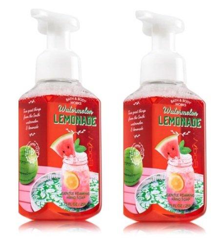 Bath & Body Works Watermelon Lemonade Gentle Foaming Hand Soap - Pack of 2(8.75 fl oz each)