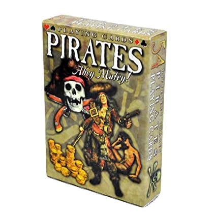 Amazon.com: Piratas Ahoy Matey Playing Cards – Tarjetas ...