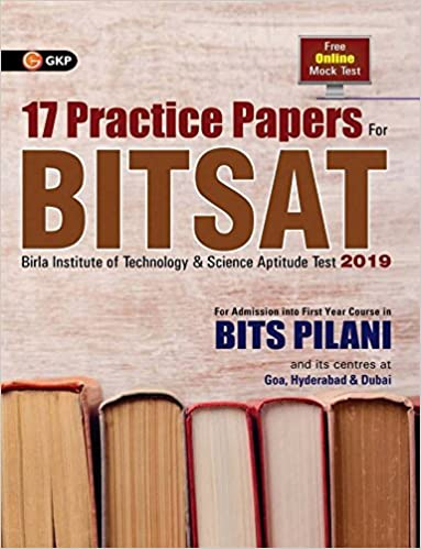 Buy BITSAT 17 Practice Papers Book Online At Low Prices In