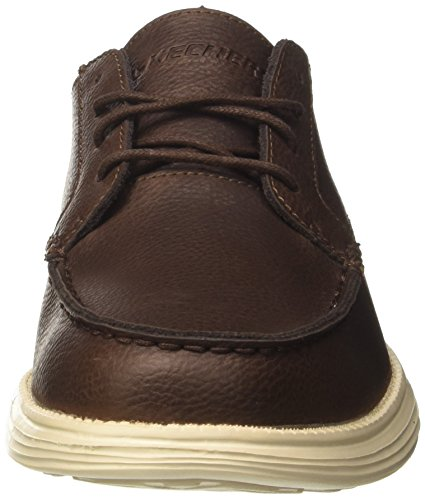 Lerado Marrone Skechers Mocassini Chocolate Status Uomo 5UqFZF