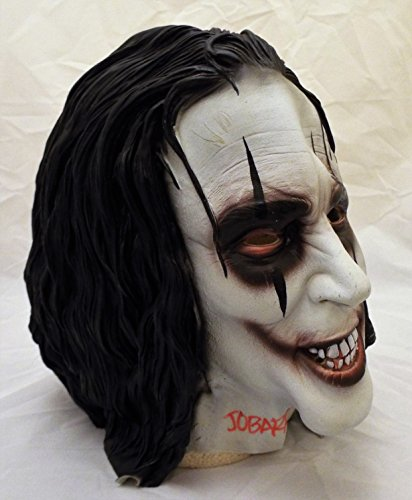 James O'Barr Signed/Autographed The Crow Latex Mask RARE (James Mask Latex)
