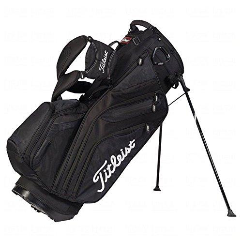Titleist Men's 14 Way Stand Bag, Black by Titleist