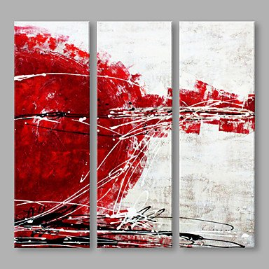 Triptych Flowers PVC Wall Stickers - 9