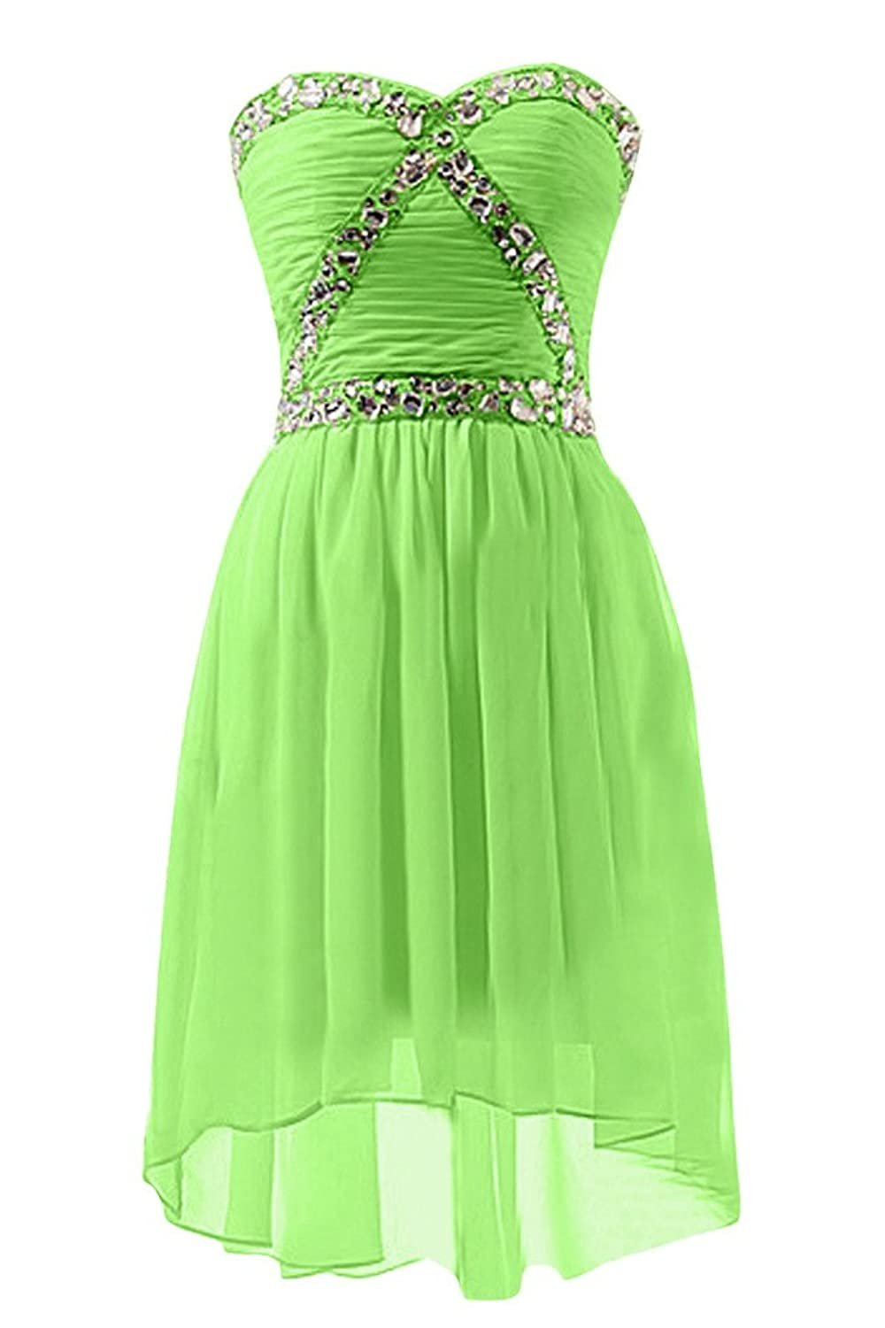 Sunvary Romantic A-Line Sweetheart Folded Cocktail Dresses Party Gowns Homecoming Dress