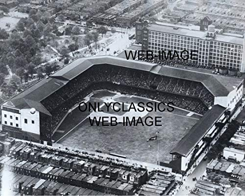OnlyClassics 1930 Shibe Park Baseball Stadium 8X10 Photo World Series Athletics vs ST Louis