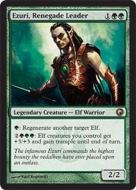 - Magic: the Gathering - Ezuri, Renegade Leader - Scars of Mirrodin - Foil