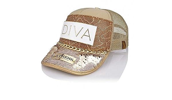 Gorra fashion de diseño hecha a mano.: Amazon.es: Ropa y accesorios