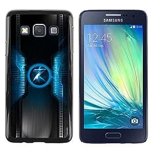 Be Good Phone Accessory // Dura Cáscara cubierta Protectora Caso Carcasa Funda de Protección para Samsung Galaxy A3 SM-A300 // Blue 7