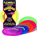 Aerobie Squidgie Disc Glow in the Dark Flying Disc - Colors May Vary
