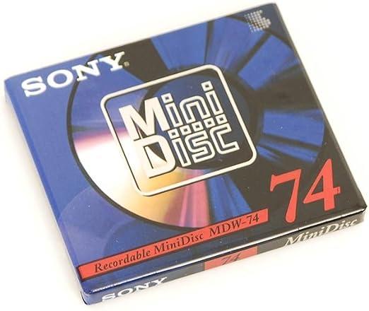 Sony Mdw 74 Mini Disc 74 Neu Elektronik