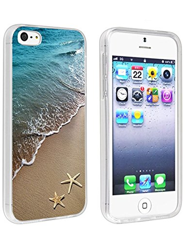 Protective iPhone SE/5/5S Case Cheap Beautiful Beach Scene