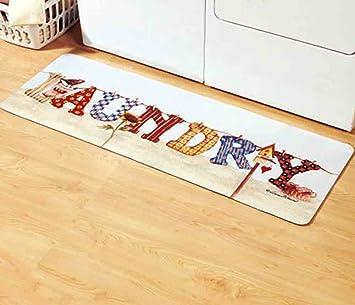 Quot Clothesline Quot Cushioned Laundry Room Floor Mat