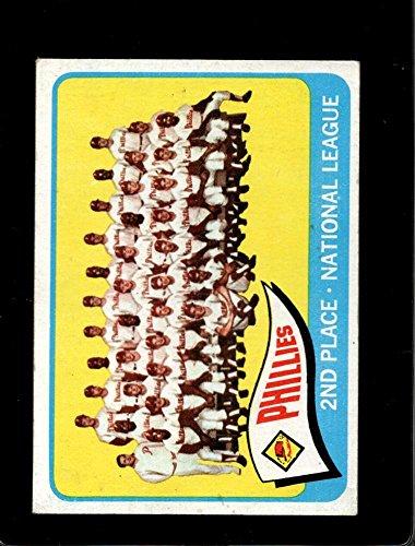 1965 TOPPS #338 PHILLIES TEAM VG+/VGEX LITE CREASES *A0488