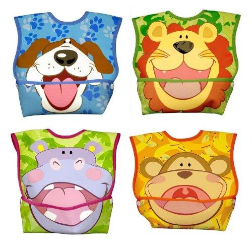 Pockets Mouth - Dex Baby Dura-bib Big Mouth- 4 Pack