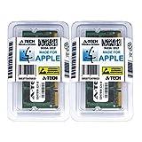 A-Tech For Apple 4GB Kit 2 x 2GB PC2-6400 800MHz iMac MacBook Mid 2009 Early 2008 MC240LL/A A1181 MB323LL/A A1224 MB324LL/A MB325LL/A A1225 MB398LL/A Memory RAM