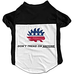 Dont Tread On Me Pet Dog Tee Shirt For Small Coat Dog Cat Vest