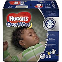 Huggies Size 4 56 ct. OverNites Diapers
