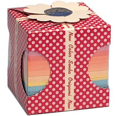 New Color Origami Paper, 1005 Sheets, 2 3/4 Inches Square